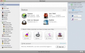 Screenshot MacKeeper